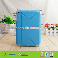Pure color PU case for iPad Mini