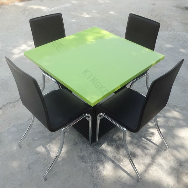 good price resin stone polyester resin stone table top