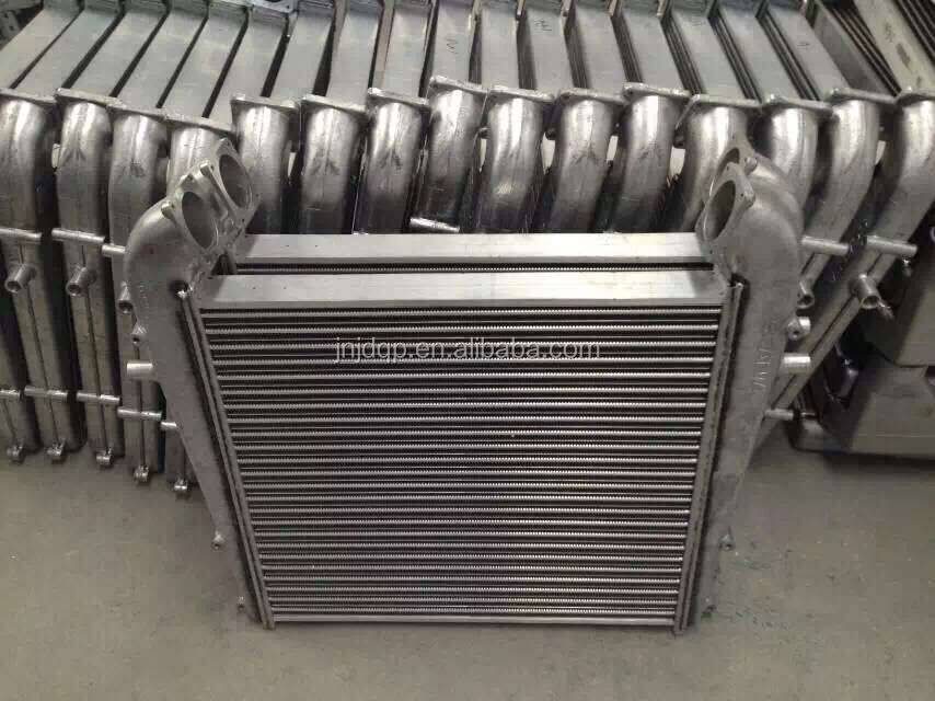 Scania intercooler 1100086 with original quality and factory price truck cooling system