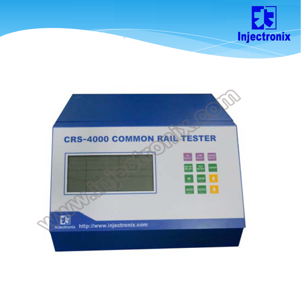 CRS-4000 common rail system test bench/piezo injector tester