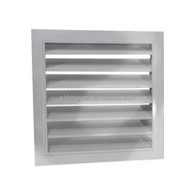 High quality aluminum louvered air vents