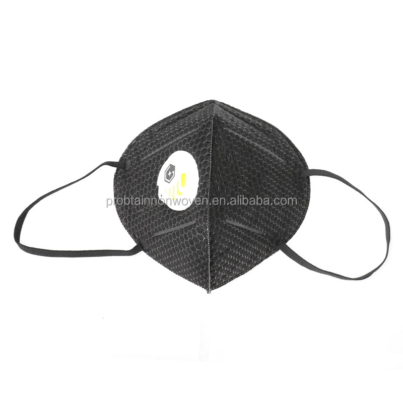 Four Layers Nonwoven 3D Fashionable Urban dust face mask industrial use