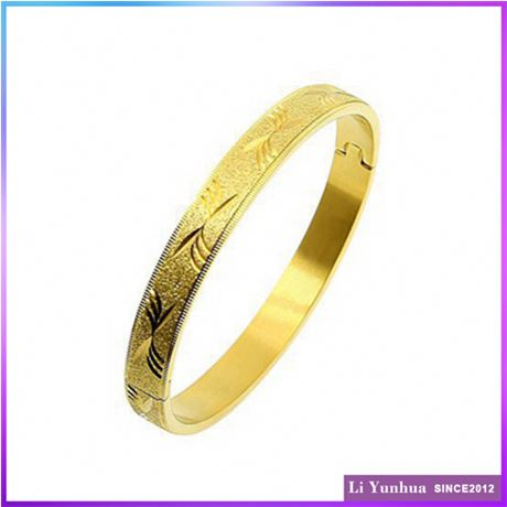 Exceptional Quality General 2016 Latest Designs Plated Modern Gold Design Bangle Base