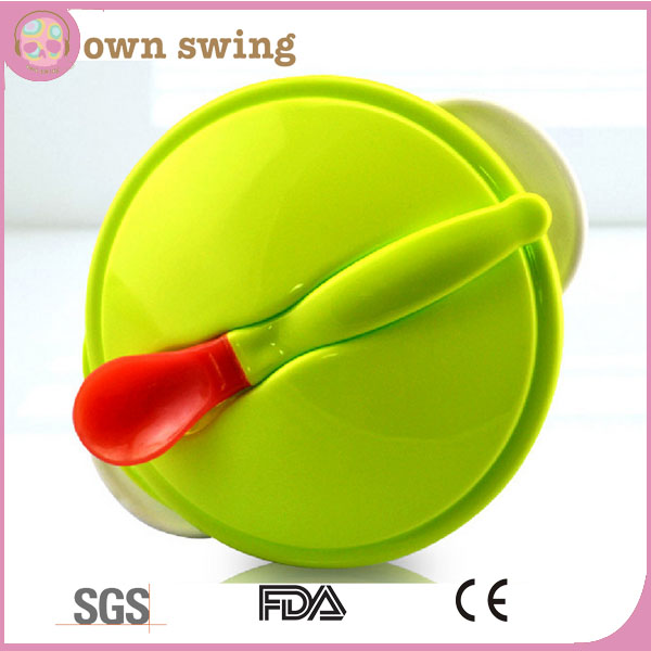 Suction Baby Bowl And 1 Baby Spoon/Baby Suction Bowl Feeding Set/Stay Put Suction Baby Bowl Set