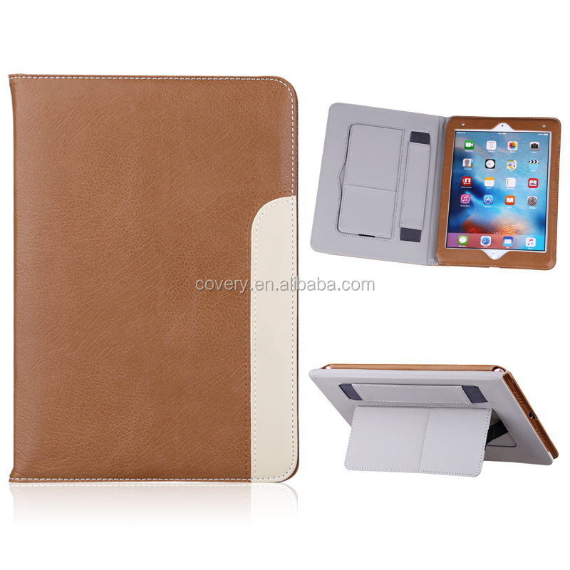 Leather New design Litchi Texture case cover for iPad Mini 4 tablet case