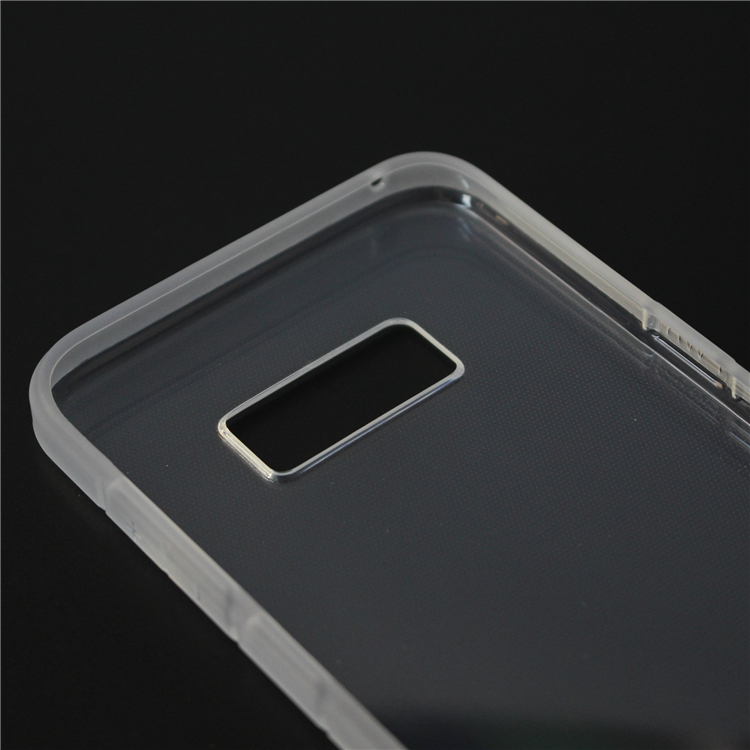 Hot selling 2mm thickness transparent tpu brand phone case for galaxy s8/s8 plus