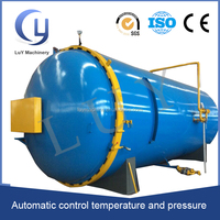 Stainless steel full automatic autoclave for rubber vulcanisation