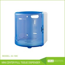 Material type plastic and paper holders roll paper towel dispenser blue plastic center feed