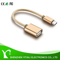 2.0 Micro USB To OTG Cable Adapter With Box for Samsung Or Android Phone OrTablet PC