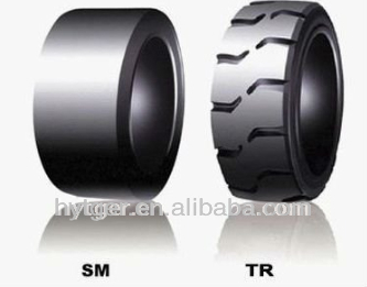Forklift tire & Forklift spare part/ See larger image 1.5ton -10 ton Cheap New Solid Forklift Tire 6.50-10 for export
