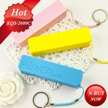 Best for gift low price Perfume 2600mAh one time use disposable power bank