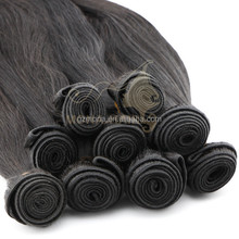 No chemical processed blossom bundles virgin hair Guangzhou hair salon equipment online