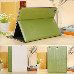 New Wood grain bicolor leather case,for ipad air leather case