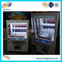 Fashional commercial vending game machine gift push win machine game