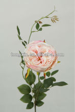 light pink color feather rose flower factory 27662N