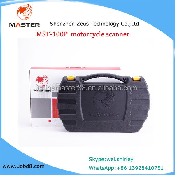 MST-100P motorcycle scanner for Honda FOR YAMAHA FOR PGO SUZUKI ,ect motor cycle scanner CO Idle speed adjustment