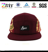 2015 Hot New Custom Floral Fresh Printing Snapback Hat Cap Adjustable Unisex 5 Panel Caps Hats Wholesale