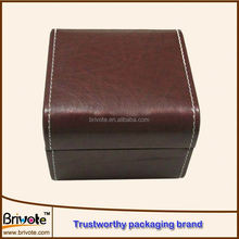 pu wooden gift box/paper leather belt box/leather wine bag carrier