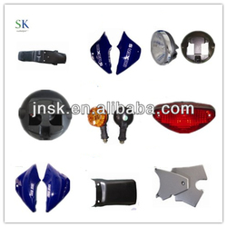 Motorcycle Body Spare Parts Plastic Parts,Rearview Mirror,Head Light,Tail light,Bulb for Boxer bajaj Scooter