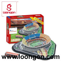 Loongon diy 3d puzzle stadium toys model