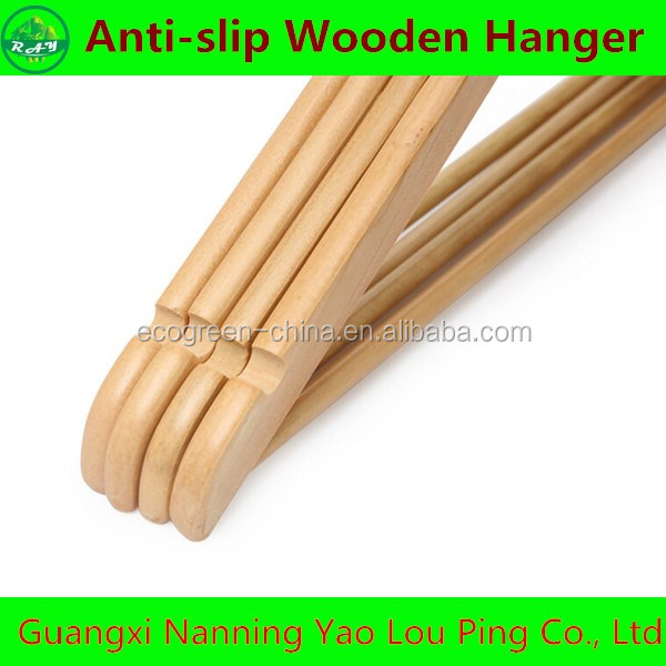 High Quality Wooden Coat Hanger