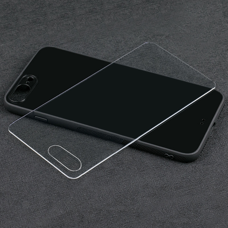 3D custom print 9H Tempered glass blank cell phone case for <strong>iPhone</strong> 7 8 plus