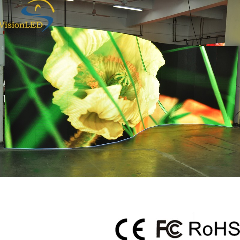 Professional Manufacturer P3.91 Indoor Curved LED <strong>Screen</strong> For Renting