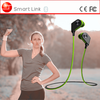 Cell phone accessories sweatproof stereo sport bluetooth stereo headset for all smart phones