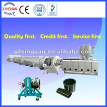 plastic extruder machine for HDPE gas and water supply pipe