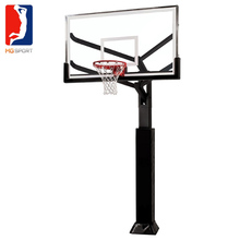 adjustable inground basketball hoop for basketball outdoor and indoor basketball court for sale