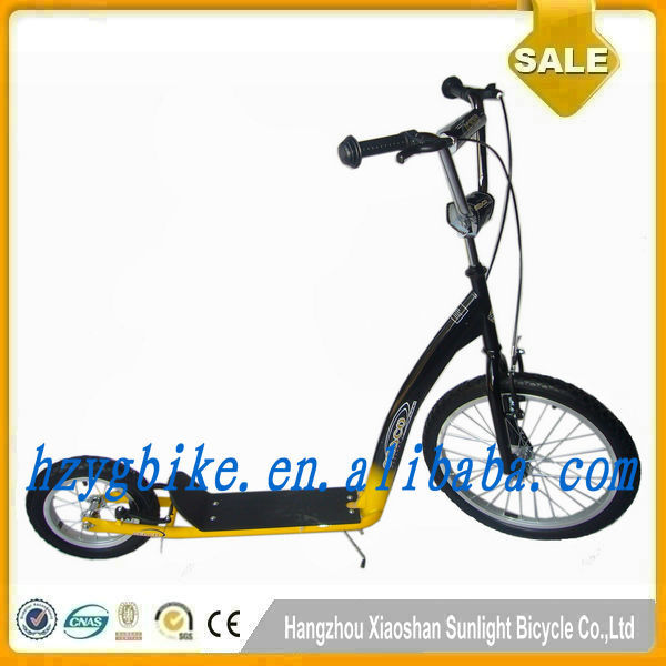 20 Inch /12 inch Rubber Big Wheels Scooter/ Push Adult Kick Scooter