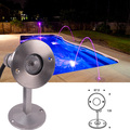 12V 316 stainless steel underwater light IP68 waterproof RGB led light for fountain,pool,pond