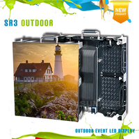 Full hd media player P4.81 outdoor for advertising rental led video wall led display screen