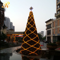Big outdoor Christmas tree decorations uk