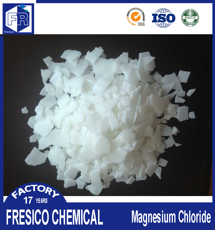 China manufacturer origin magnesium chloride flakes 47% min