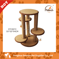 Multi-plate deluxe Cat Tree durable cat furniture cat scratcher