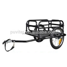 2017 NEW Black Foldable Bike Cargo Pet Dog Convenient Trailer Carries 100Kg(CT004)