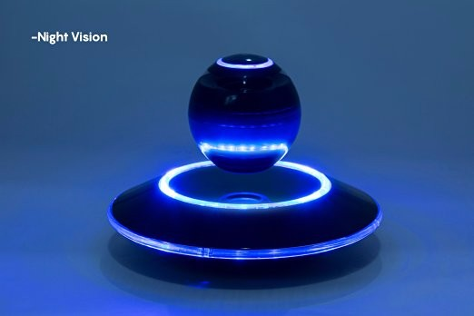 Fashional magnetic levitation ball bass wireless floating speaker hallowmas bluetooth voice box