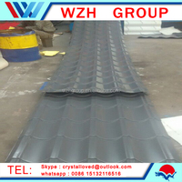 colored metal roofing prices,sand coated metal roofing tiles from china supplier
