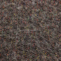 mixed color stretch boucle knit fabric for fashion coats