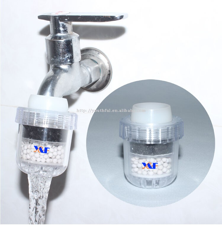 Simple But High Filter Precision Faucet Mounted Activated Carbon Filter Water