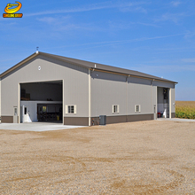 Modular easy build steel structure warehouse in foshan