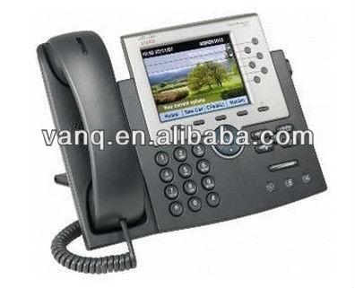 New Cisco CP-7965G VoIP Phone High Resolution Monochrome LCD Display