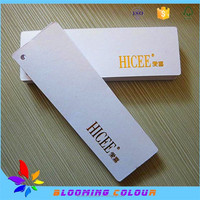 custom name brand printing jewelry tag , high quality paper price hang tag