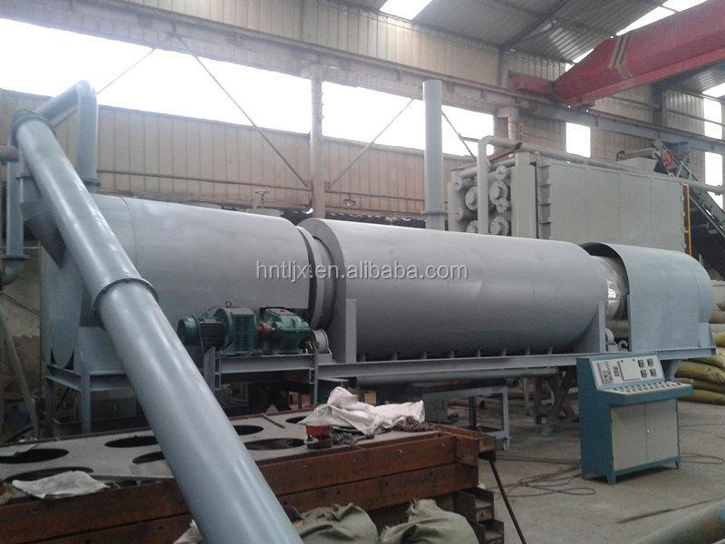 continuous type of machine continuous carbonization furnace