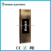 induction sliding card with intelligent for dormitory cabinet door lock