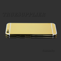 for iphone6 4.7-inch real 24ct gold housing, 24k gold edition back plate for iphone 6