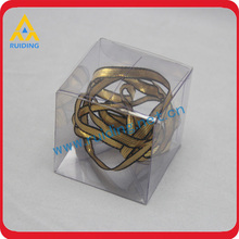 Transparent clear plastic pen pillow boxes