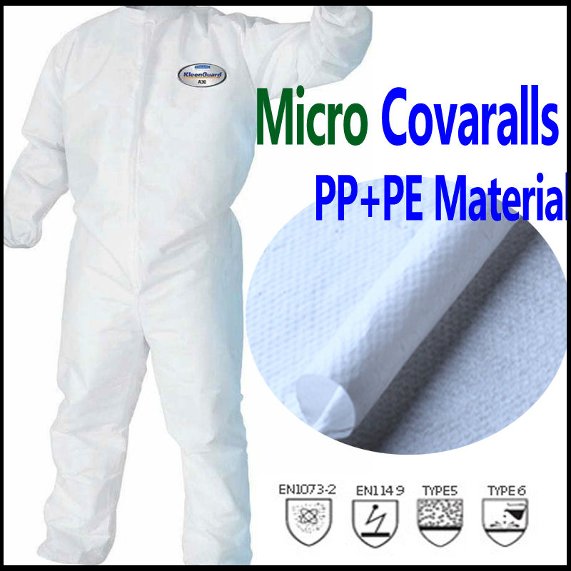 disposable PP/nonwoven/SMS/SF coverall
