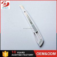 hot sale oem credit card 9mm stainless steel spring blade cutter knife